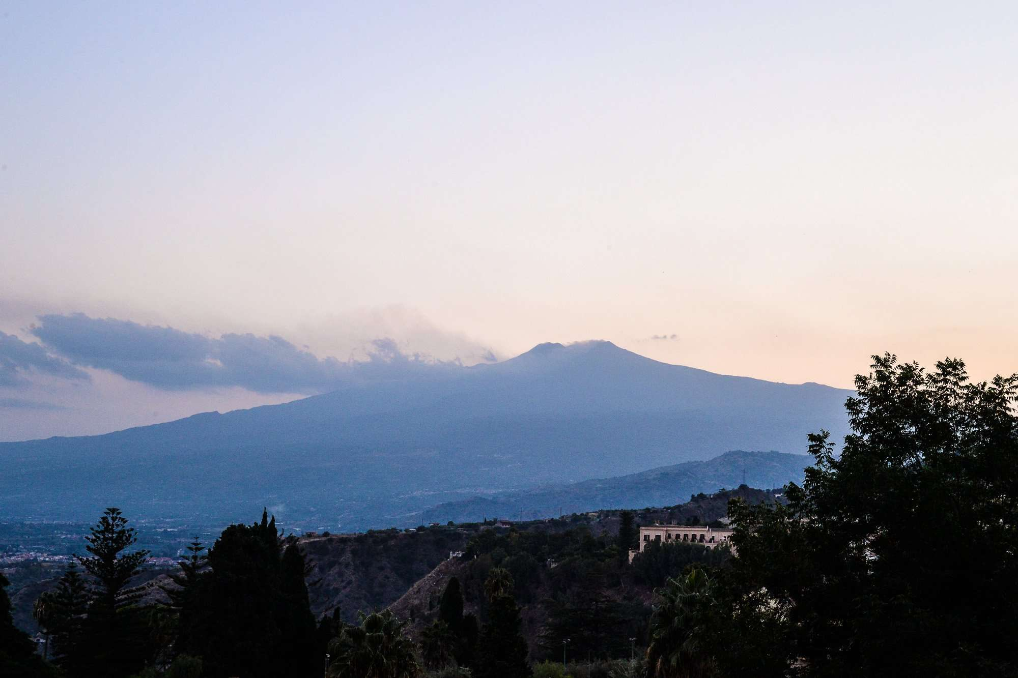 mount etna in sicily